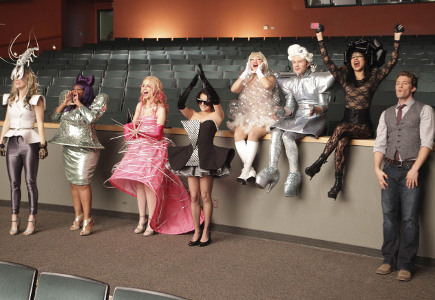 lady gaga glee episode