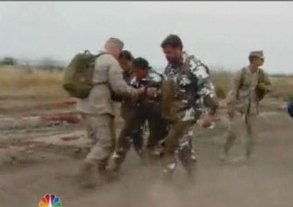 USA! 'The Biggest Loser' Works Out with the Marines