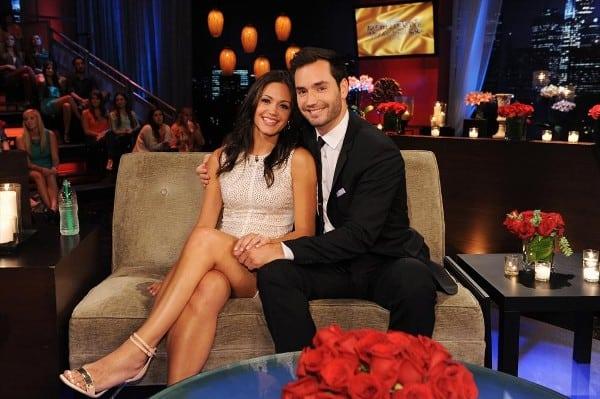 Bachelorette Desiree and Chris
