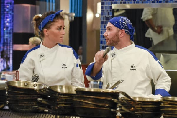 Hell39;s Kitchen39; Recap: The Top 8 Face a Private Dinner Service and