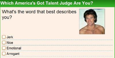 Which America's Got Talent Judge Are You?