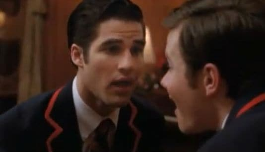Kurt and blaine dating in real life