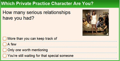 Which Private Practice Character Are You?