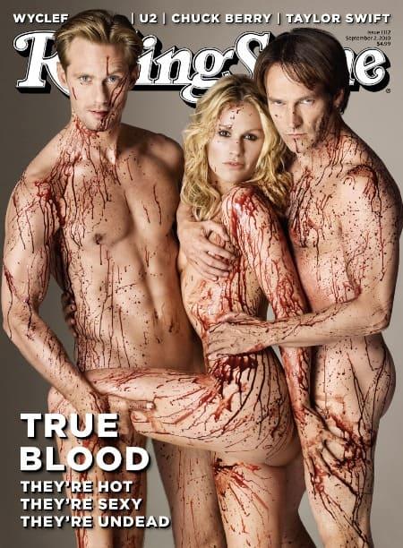 Jennifer Aniston Rolling Stone Magazine. True Blood on Rolling Stone