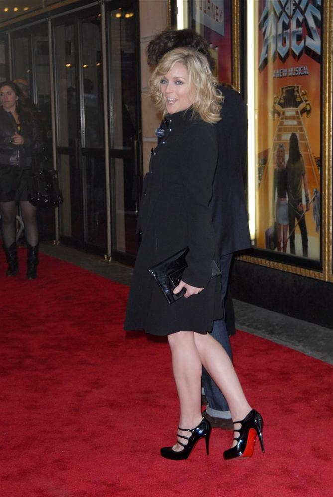 Jane Krakowski ''Rock of Ages'' Broadway Opening Night - Arrivals New York City, USA - 07.04.09