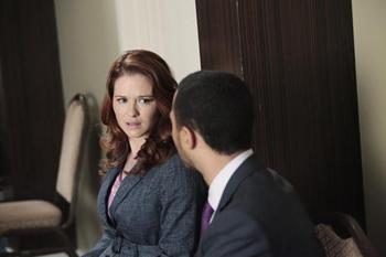 'Grey's Anatomy' Interview with Sarah Drew: April is 'Super Freaked-Out'